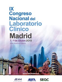 IX Congreso Nacional del Laboratorio Clínico