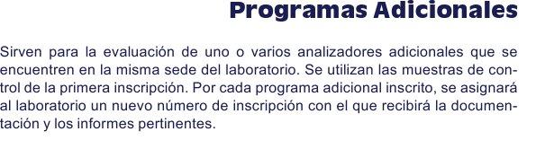Programas_adicionales