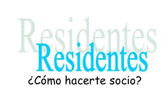residentes logotipo