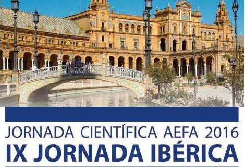 Jornada Científica AEFA 2016 – IX Jornada Ibérica