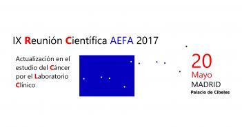 IX Reunión Científica AEFA 2017.