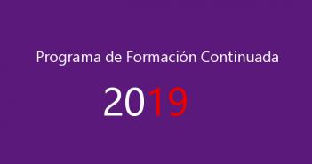 PROGRAMA DE FORMACION CONTINUADA AEFA 2019