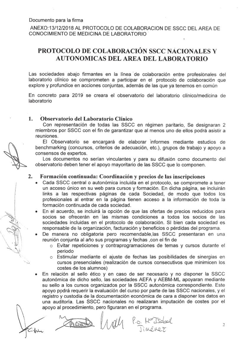 PROTOCOLO DE COLABORACION SSCC NACIONALES Y AUTONOMICAS DEL AREA DE LABORARORIO CLINICO_2