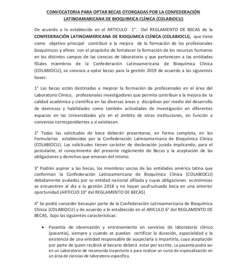 CONVOCATORIA BECAS COLABIOCLI CORREGIDO 1