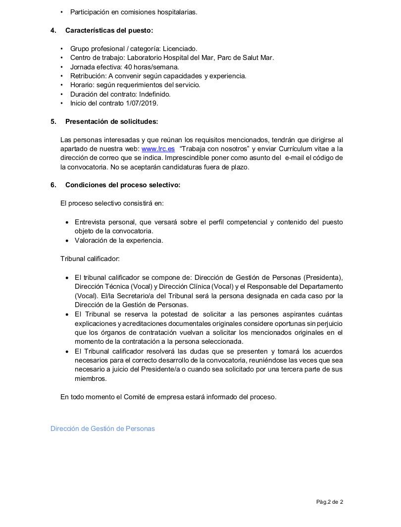 05.2019 Jefe de Servicio del Laboratorio del Mar castellano (2)