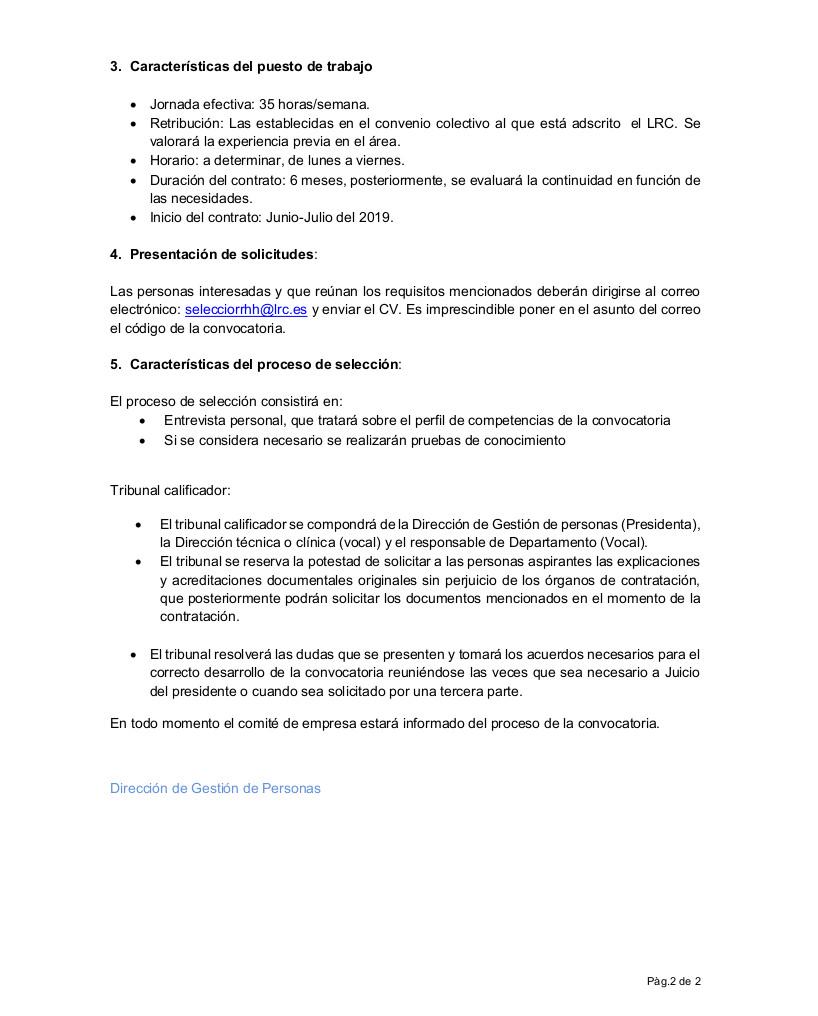 06.2019 Facultativo especialista en Immunologia_ castellano_2