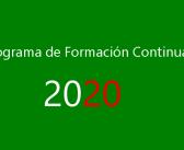 PROGRAMA DE FORMACION CONTINUADA AEFA 2020