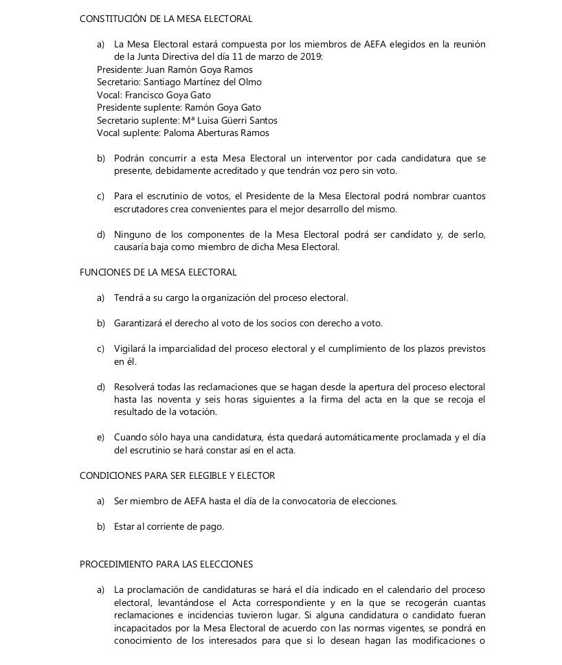 CONVOCATORIA ELECCIONES 2019_2