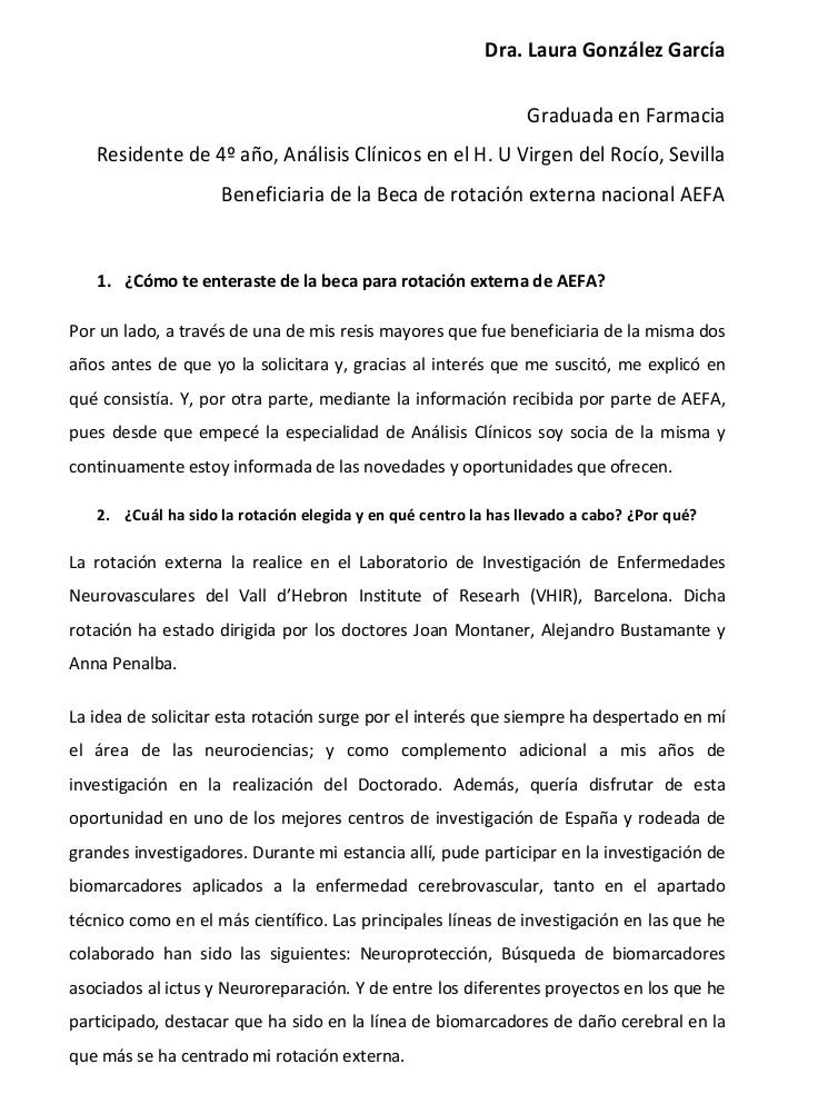 Entrevista a Laura González_Beca Rotación Externa AEFA_1