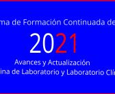 Programa de Formacion Continuada de AEFA 2021
