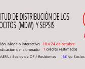 Amplitud de distribución de los monocitos (MDW) y sepsis